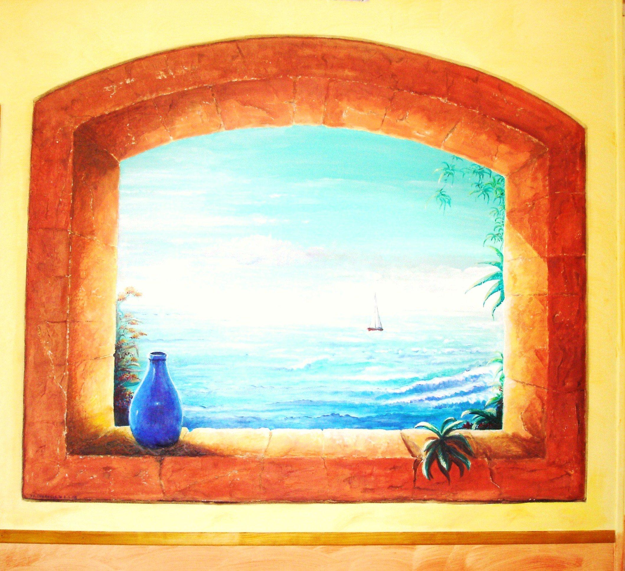 Artiste peintre fresques trompe l 39 oeil dans l 39 yonne 89 - Trompe l oeil peinture ...