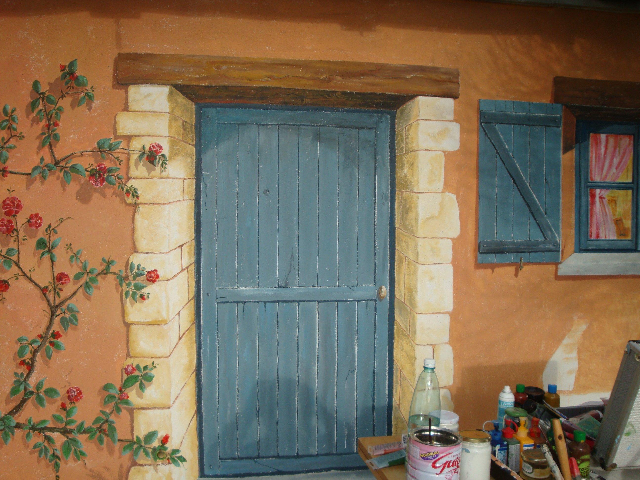 d coration archive at artiste peintre fresques trompe l 39 oeil dans l 39 yonne 89. Black Bedroom Furniture Sets. Home Design Ideas