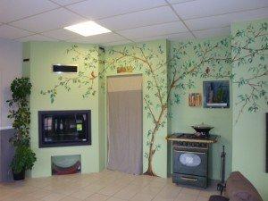 Décors muraux magasin de cheminées dans Décoration DSC01179-300x225